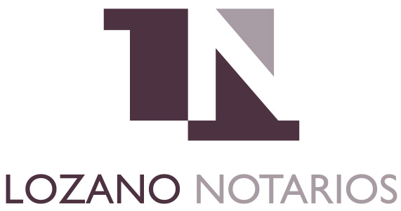 Lozano Notarios logo